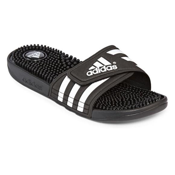 150f56863a58 adidas Shoes - Adidas Adissage Velcro Slide Sandals